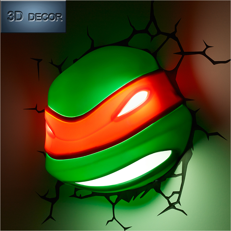 free shipping wall decor 3d Teenage Mutant Ninja Turtles Donatello ...