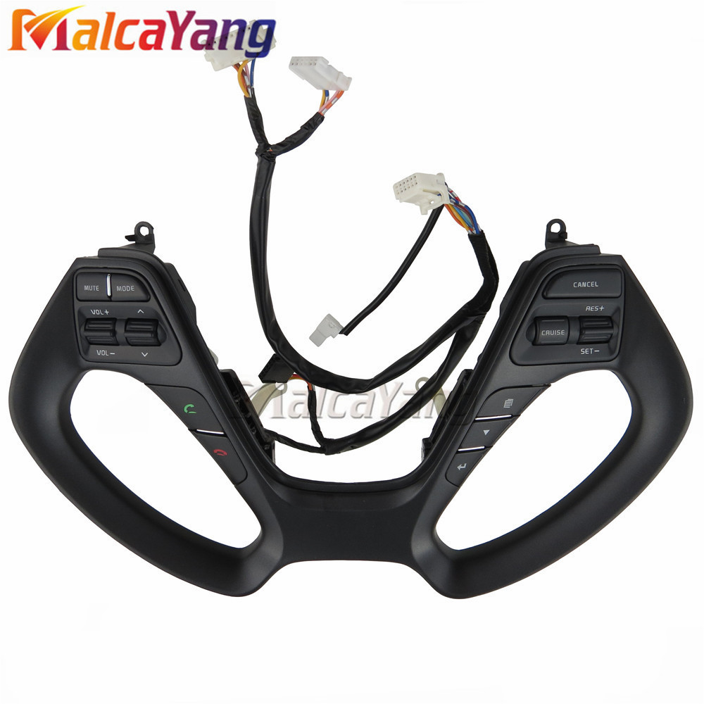 for K3 K3S Car 2014-2016 Multifunction steering wheel buttons Cruise Switch Car Accessories steering wheel buttons