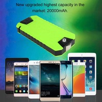 Multifunctional Ultra Thin Auto Car Jump Starter Power Bank 20000MAH 600A Car Battery Charger Booster With