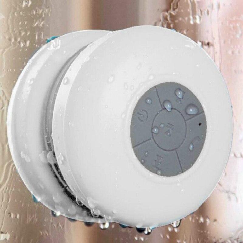 5 W Haut-parleurs Bluetooth Mini Protable Étanche Douche Haut-Parleur Appel de Soutien