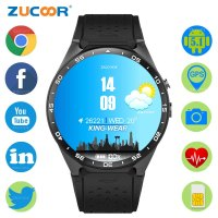 ZUCOOR Smart Watch Watches GPS Android Relojes Health Smartwatch SIM Card Eletronico Smartphone Fitness Wrist Pulse Meter Phone