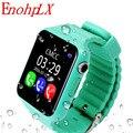 EnohpLX Neue V7K Bluetooth Smart Uhr GPS Tracker Smartwatch Anti Verloren Schlaf Monitor Schrittzähler für Android IOS Telefon Baby Geschenke