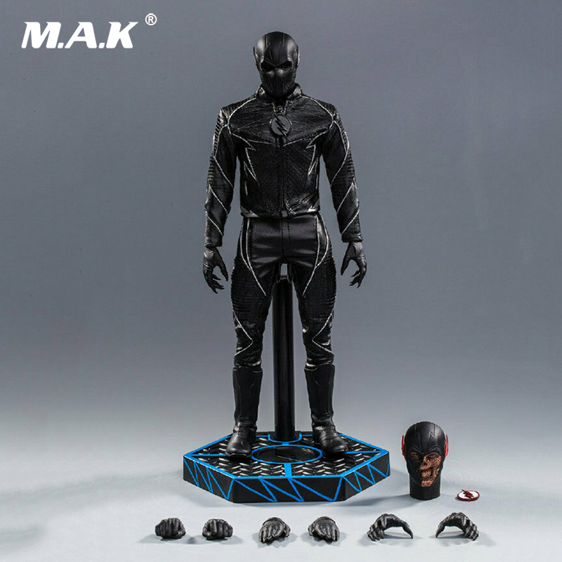 For collection Soosootoys SST010 1/6 Dark Speedster Black Flash Figure Box Full Set doll collection 1