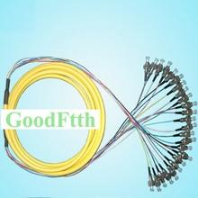 Fiber Patch Cord Cable FC-FC UPC SM 12 Cores Distribution 0.9mm GoodFtth 100-500m