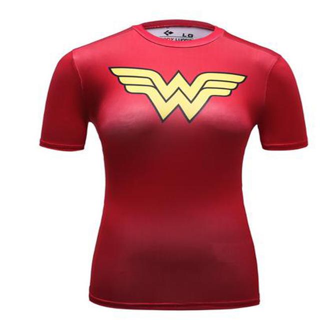 New Arrival Wonder Women Compression Top
