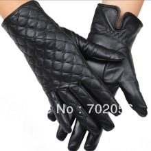 Ботильоны на низком каблуке из натуральной кожи Перчатки кожи перчатки кожаные перчатки#3139