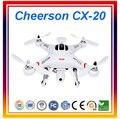 Dwi Dowellin Cheerson CX-20 RC Quadcopter Drones Profissionais Originais GPS Helicóptero de Controle Remoto RC Drone Com Câmera HD