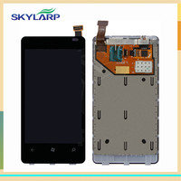 LCD Display Touch Screen Digitizer Assembly For Nokia Lumia 800 N800 Free DIY Tools