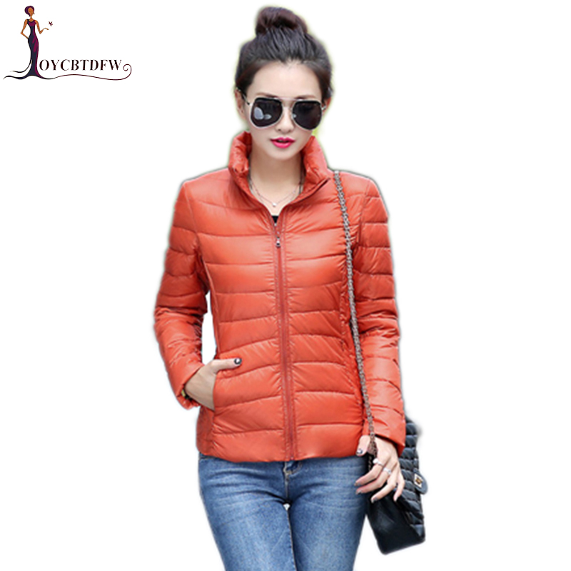 Outwear Winter Women Large Size S-3XL Solid Portable   Down   Jacket 2018 Fashion Warm Slim Jackets   Down     Coat   Female Chaqueta NO286