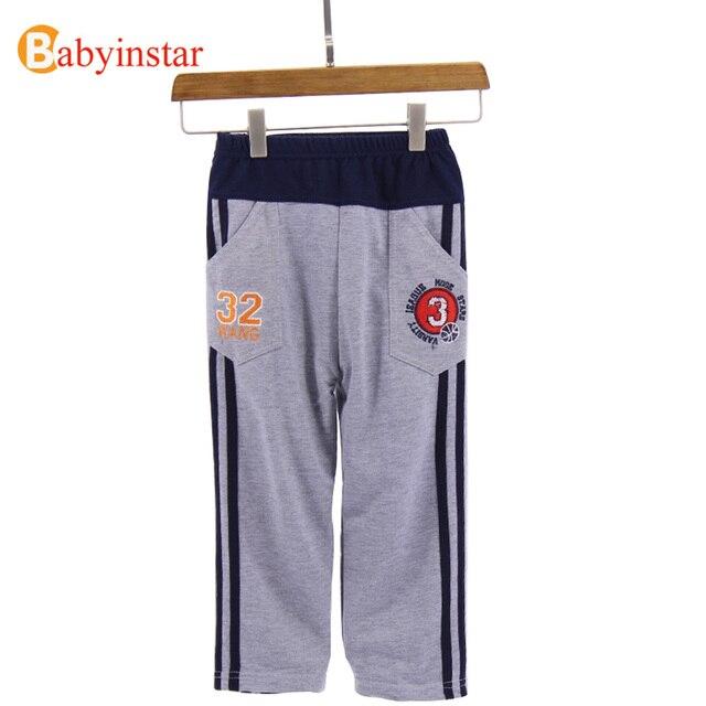 Joggingbroek Kinderen.Babyinstar Kid Jongen Sport Broek Letters Print Broek Voor Jongens