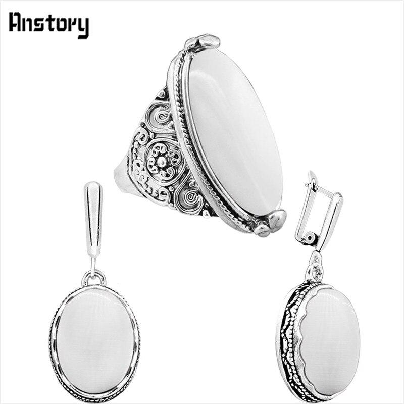 earring ring-White