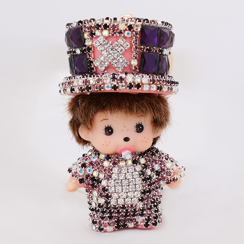 monchichi key chains (3)