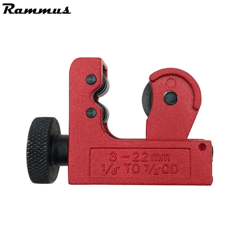 "High Quality 3-22mm 1/8""-7/8"" Mini Copper Aluminum Iron Metal Tube Tubing Slice Cutter Pipe Knife Cut Plumbing Tool Shear"