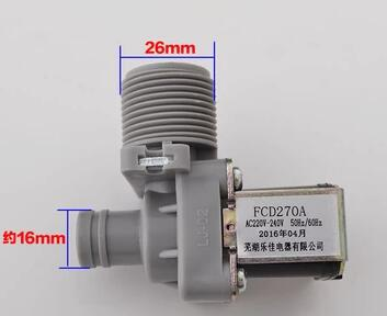 FCD270A washing machine inlet solenoid valve 220V 50Hz oven parts rice cooker machine assemble valve with 3v solenoid valve
