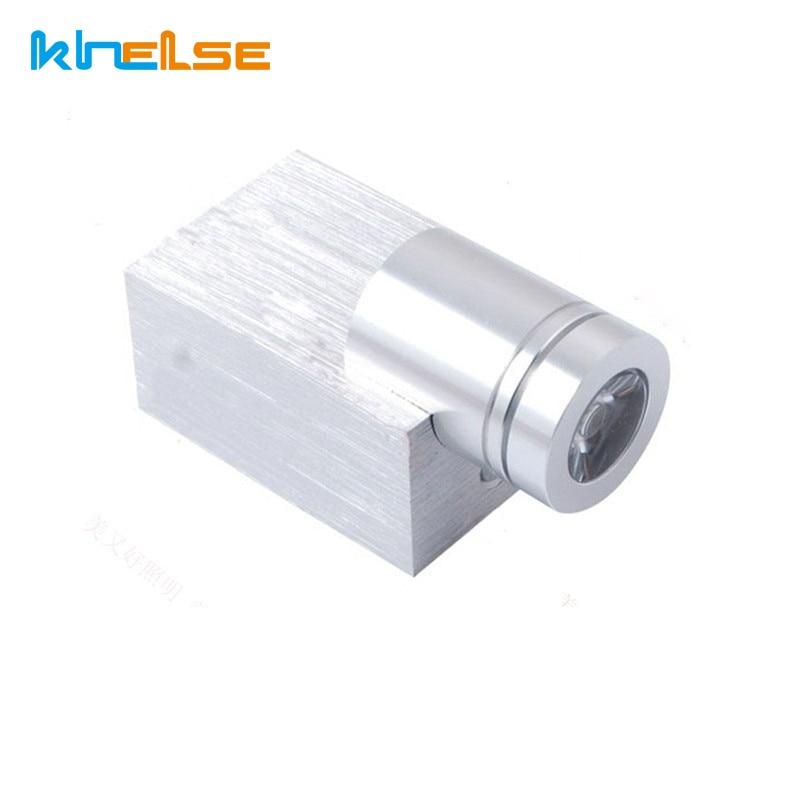 1W 3W Modern LED wall lamp AC85-265V indoor decoration light LED spot lighting