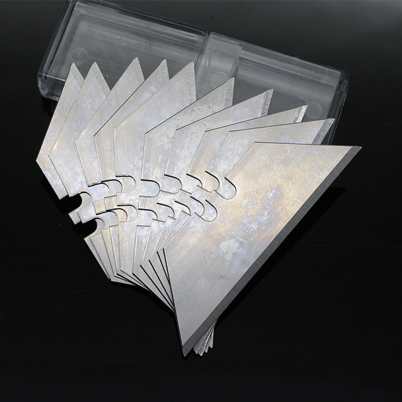 10pcs blade trapezoidal  folding