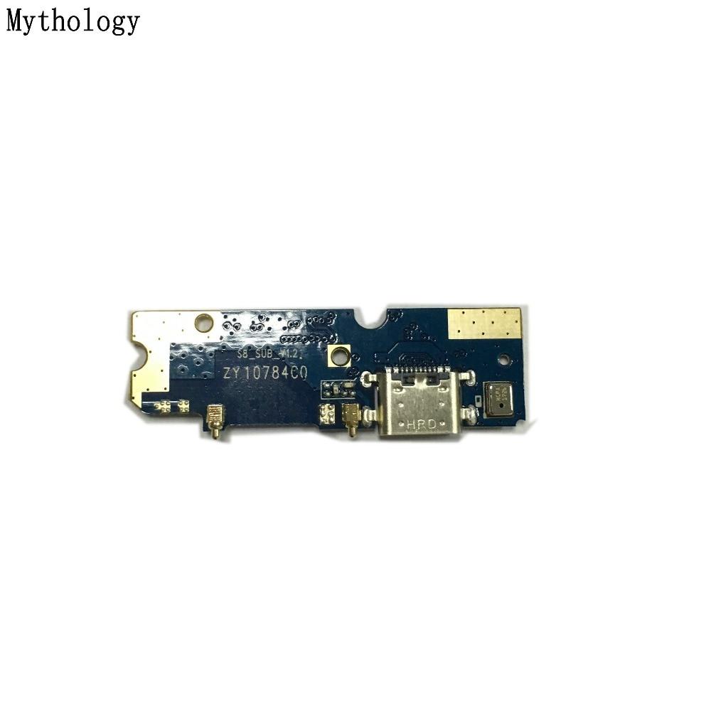 Mitologia USB di Ricarica Circuiti Consiglio Per Bluboo S8 5.7 Pollice del telefono mobile microfono Connettore del Cavo Della Flessione Parti