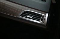 2pcs Set Car Interior ABS Chrome Front Side Air Vent Outlet Cover Trim Sticker For BMW