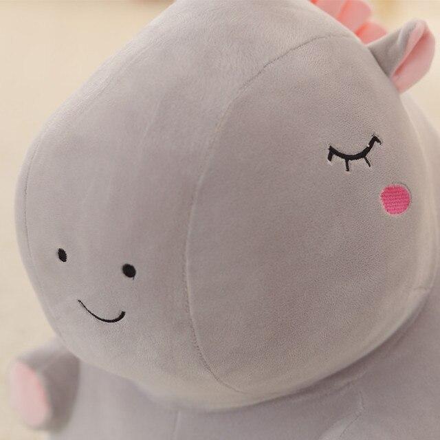 Unicornio de peluche de juguete gordo unicornio muñeca lindo animal de peluche unicornio suave almohada bebé juguetes para niños niña cumpleaños regalo de Navidad 5
