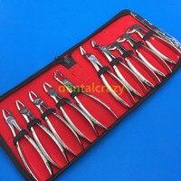 Dental instruments Dentagra dental dental forceps suit adult&children,Kids tooth forceps sets of include post pliers