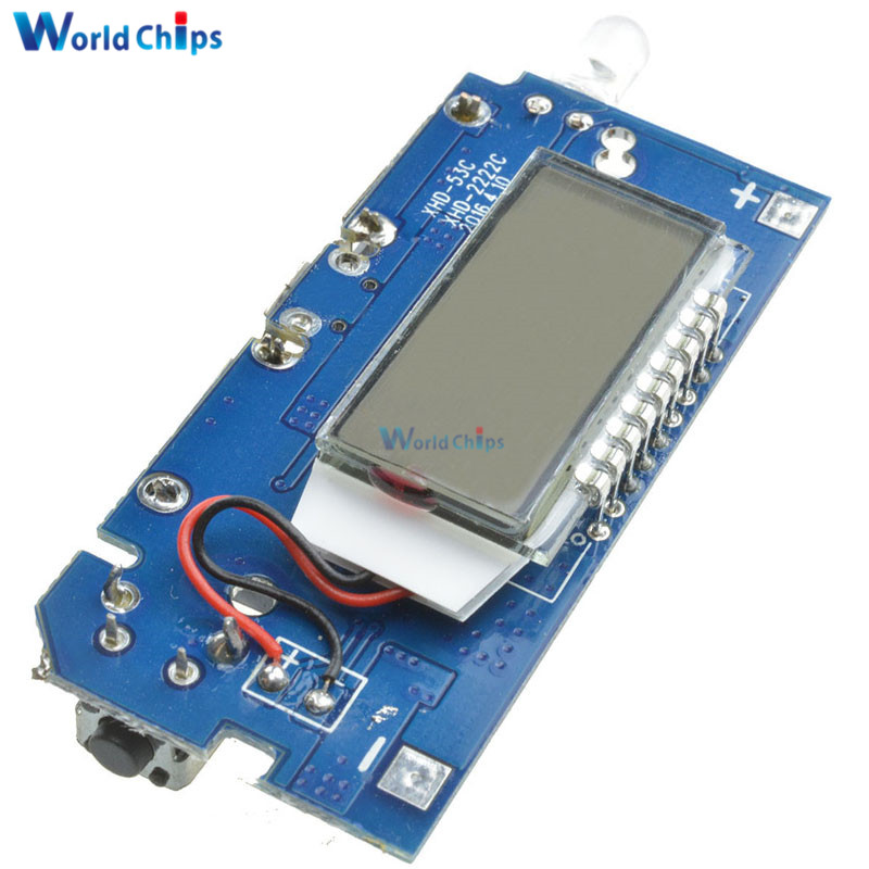 Dual usb v a battery charger board mobile