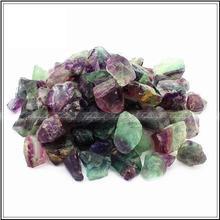 2 шт./лот Природный Редкие Красочные Флюорит Кристалл Камень Драгоценный Камень Образец Исцеление A194CL натуральных камней и минералов