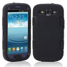 S3 Hybrid Plastic+Silicone Defendered Case Shockproof Cover for Samsung I9301I Galaxy S3 Neo S3 Duos I9300i I9300 S4 S5 Neo(China)