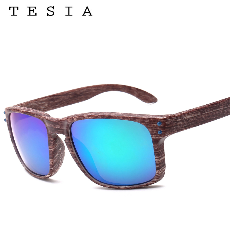 TESIA Brand Designer Wood Sunglasses Men Women Outdoors Glasses - Apparel Accessories - Photo 3