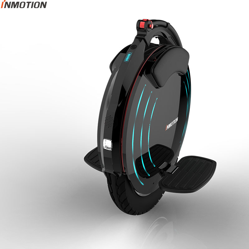 INMOTION V10/V10F auto équilibrage roue Scooter électrique monocycle 2000 W intégré poignée Hoverboard avec lampes décoratives - 5