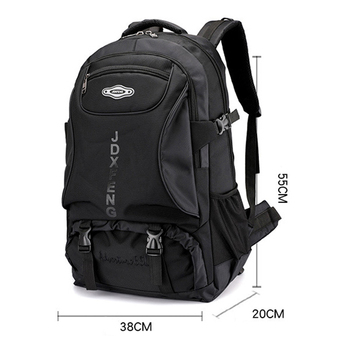 60L unisex men waterproof backpack travel pack sports bag pack Outdoor Mountaineering Hiking Climbing Camping backpack for male 5