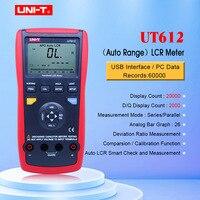 Блок UT611 UT612 емкость LCR метр 20000 скидка insolution Измеритель сопротивления с ЖК дисплей подсветки