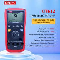 หน่วย UT611 UT612 Capacitance meter Lcr 20000 ส่วนลด insolution ความต้านทานพร้อมจอแสดงผล lcd