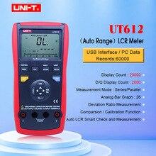יחידה UT611 UT612 קיבול מטר LCR מד 20000 הנחה insolution התנגדות מטר עם LCD תאורה אחורית תצוגה