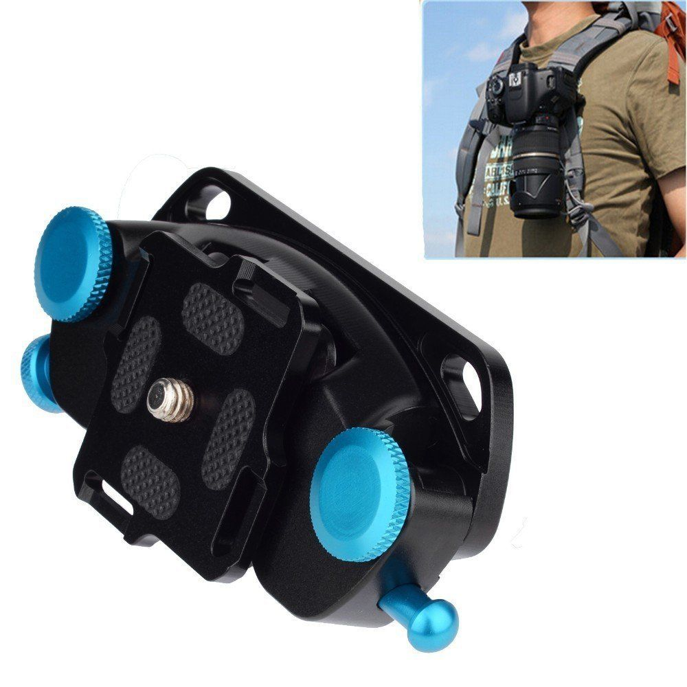 Waist Spider Belt Holster 1 4inch Screw Quick Strap Buckle Dull Polished Surface