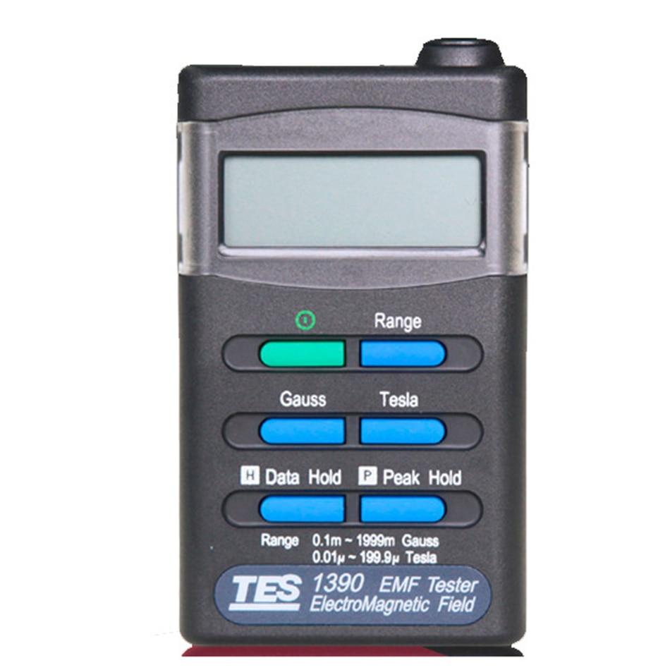 TES-1390 Handheld EMF Tester Gauss Radiation Detectors Electromagnetic Field Meter Electromagnetic Wave TesterTES-1390 Handheld EMF Tester Gauss Radiation Detectors Electromagnetic Field Meter Electromagnetic Wave Tester
