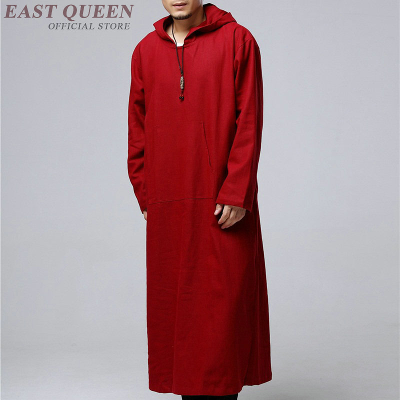 Traditional chinese clothing for men male overcoat outerwear oriental winter trench coat men trenchcoat clothes 2018 DD1298 Одежда