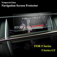 For BMW 5 Series F10 GT F07 11 15 Tempered Glass GPS Navigation Screen Protector