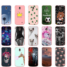 Case For Nokia 1 Plus Case Cover Cute Silicone Soft Cover for Nokia 1 For Nokia1 Plus bumper full 360 Protective coque capa(China)