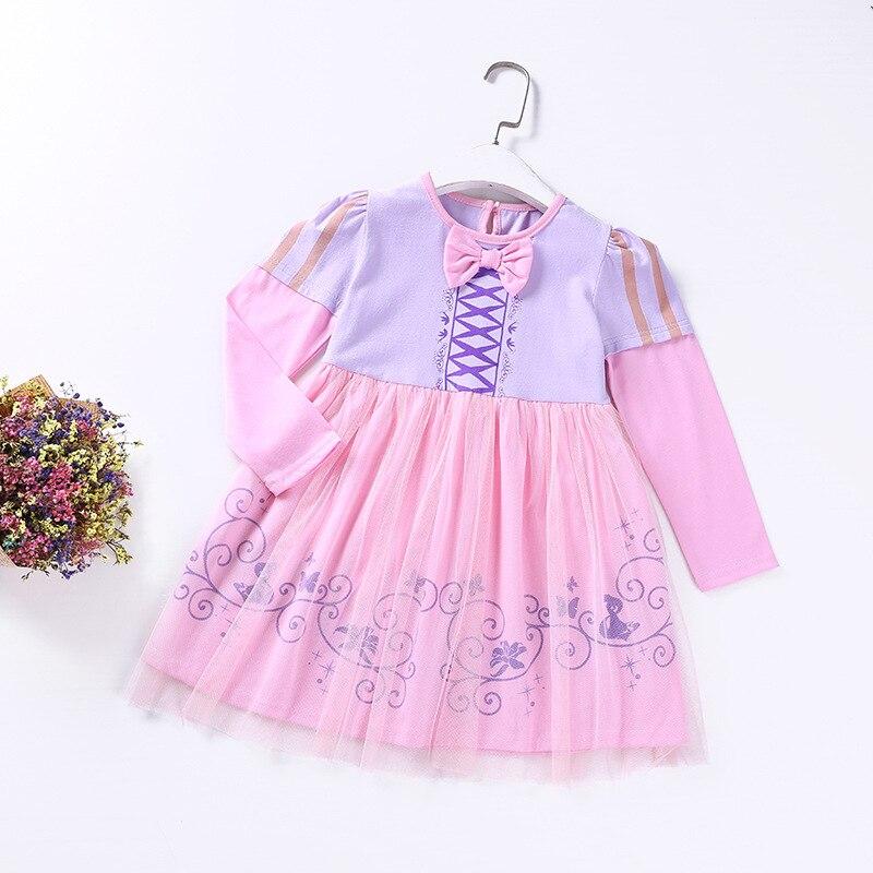Bebé de Navidad algodón princesa Cenicienta Rapunzel vestidos ...
