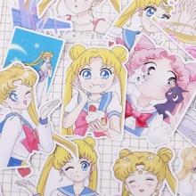 21 unids/pack creativo lindo auto-Sailor Moon Scrapbooking pegatinas/de la etiqueta engomada/DIY arte foto álbumes