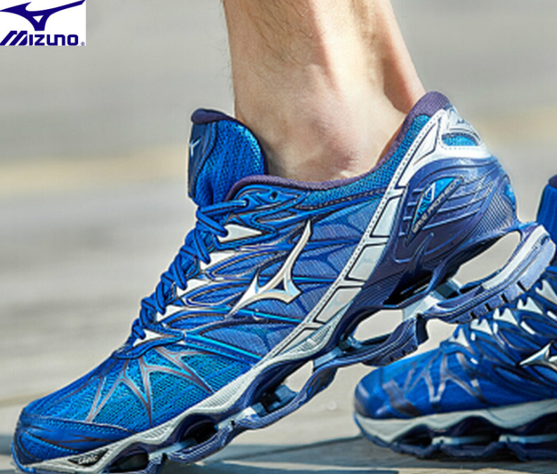 цена на High Quality Original MIZUNO WAVE Prophecy 7 professional Men shoes Mesh running shoes outdoor Weightlifting Shoes Size 40-45
