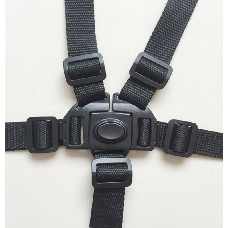 Universal Baby 5 Point Harness Safe Belt Seat Belts For Stroller High Chair Pram Buggy Children Kid Pushchair