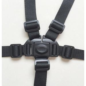 Universal Baby 5 Point Harness Safe Belt Seat Belts For Stroller High Chair Pram Buggy Children Kid Pushchair(China)