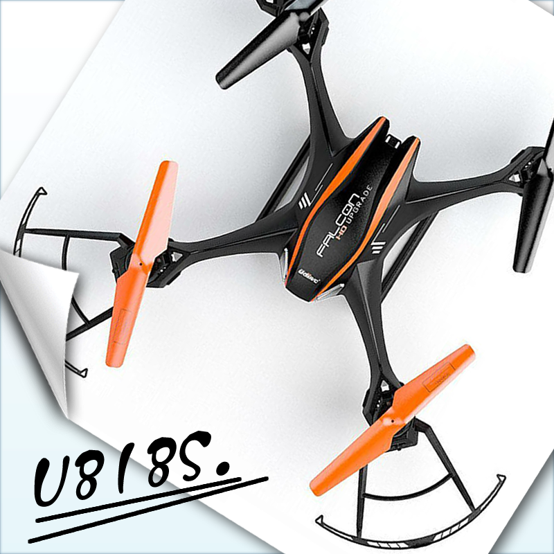 Free Shipping UDI 818S Quadcopter with 5.0 MP Camera RC Drone RC Helicopter U818s Remoter Control VS X8W  X5SW X5C X8C FSWB yizhan i8h 4axis professiona rc drone wifi fpv hd camera video remote control toys quadcopter helicopter aircraft plane toy