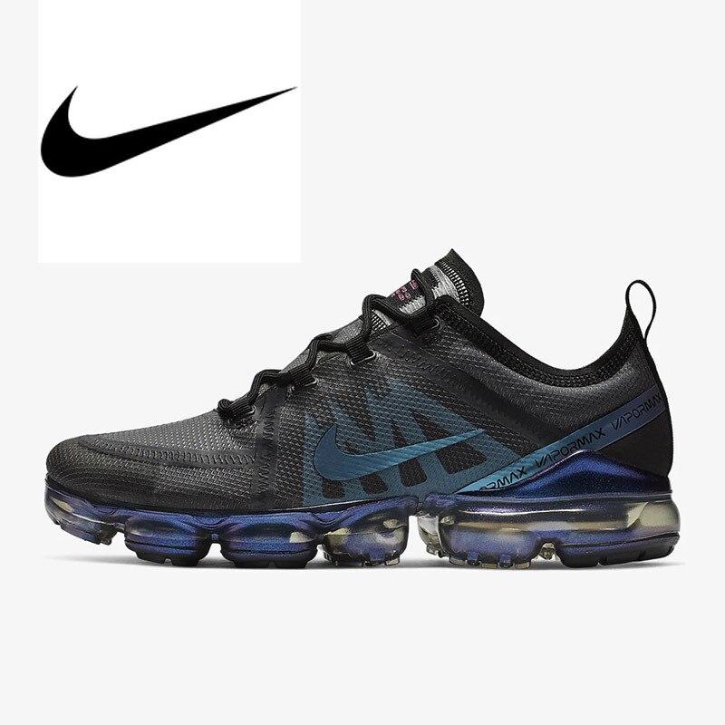 Chaussures de course Nike Air VaporMax 2019 pour hommes authentiques chaussures de sport en plein Air respirantes chaussures de Designer athlétique AR6631-001