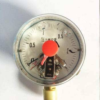 YNXC-100 -0.1-2.5Mpa - magnet type electric contact pressure gauge vacuum Shanghai Zhengbao