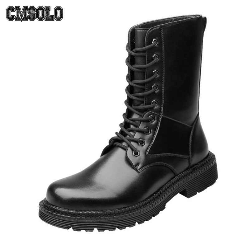 98a89195f89 Detail Feedback Questions about CMSOLO Men's Boots British Style ...