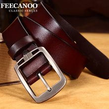 Metal Pin Buckle Leather Belt For Men