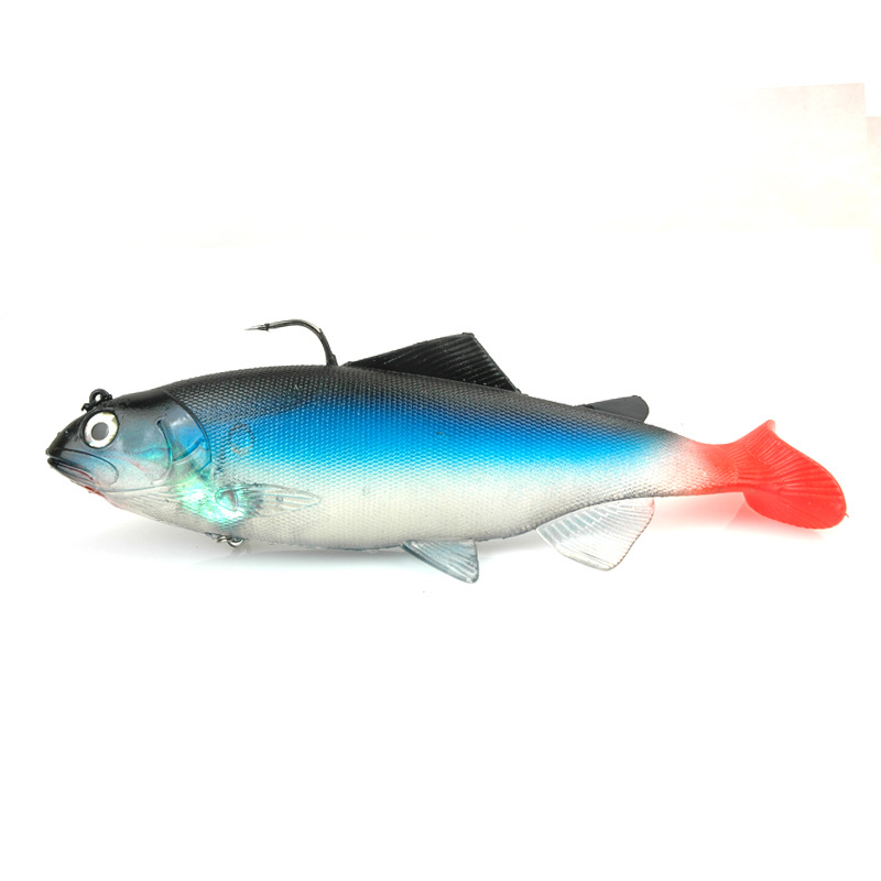 1Pcs Big weight Lead Soft Baits Jig Fishing Lure Fish Sea Fishing Tackle Saltwater Wobbler Fake bait Isca Artificial 137g 19cm-in Fishing Lures from Sports & Entertainment