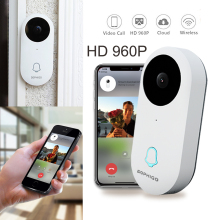 DOPHIGO 960P Smart Wifi Doorbell Wireless Security Visual Intercom Recording Video Door Phone Remote Home Monitoring audio and video transmission system 2 4 g 3w remote wireless video transmitter security monitoring transceiver
